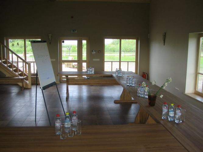Banketų ir konferencijų salė poilsio komplekse Papėje Pukarags - 5