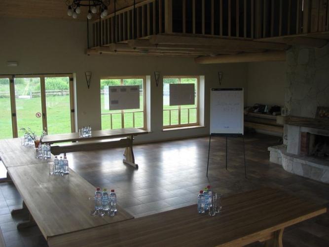 Bankettsaal und Konferenzraum im Erholung Centre in Pape Pukarags - 6