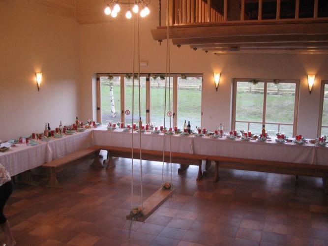 Bankettsaal und Konferenzraum im Erholung Centre in Pape Pukarags - 7
