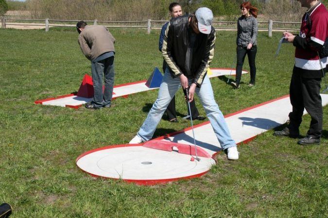 Sporto renginių organizavimas poilsio komplekse Papėje Pukarags - 2