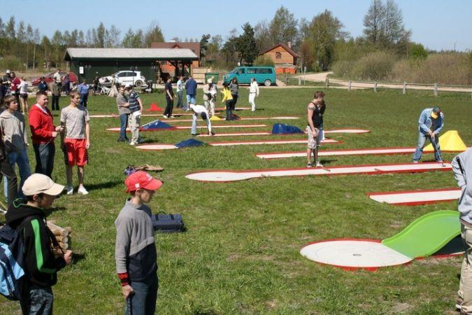 Sporto renginių organizavimas poilsio komplekse Papėje Pukarags - 1