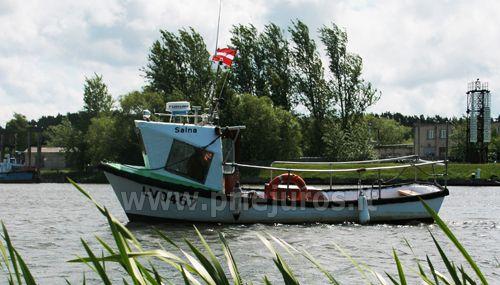 Žvejyba jūroje ir ekskurijos jūroje laivu Pavilostoje (Latvija). Žvejo sodyba Zvejniekseta - 2