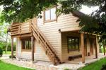 House with sauna in Ventspils region Ozolina