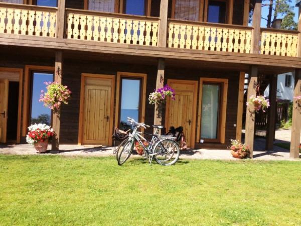 Romantikas poilsis Jūrmaloje svečių namuose ant upės Lielupe kranto