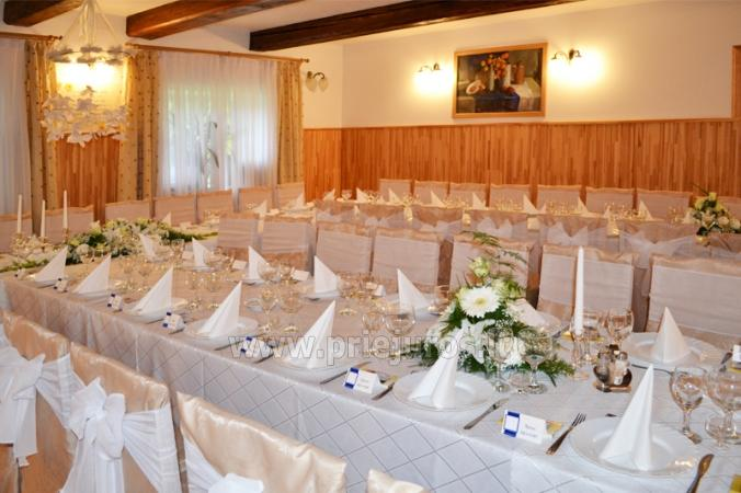 Banquet hall and wedding organization in Guest house Vecmuiza - 5