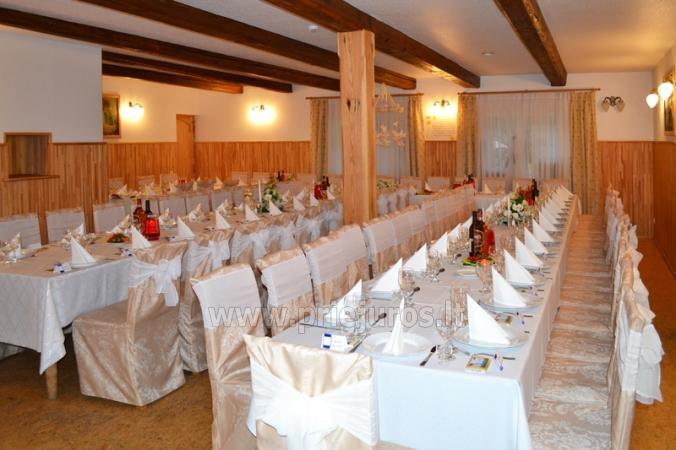 Banketu zāle un kāzu organizēšana viesu namā Vecmuiža - 6