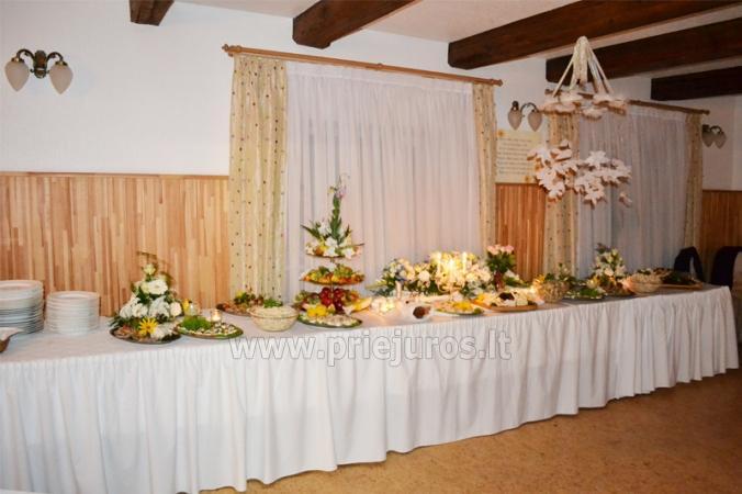 Banketu zāle un kāzu organizēšana viesu namā Vecmuiža - 7
