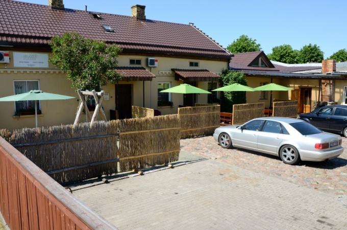 Banketų - konferencijų salės ir sauna svečių namuose Ventspilyje Veldzes Nams - 9