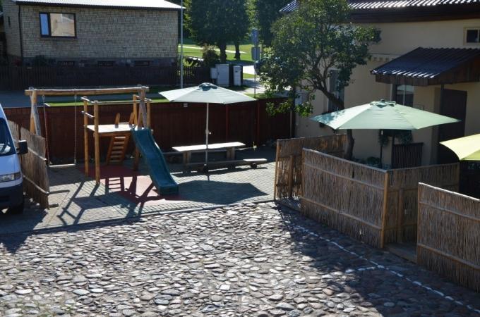 Banketų - konferencijų salės ir sauna svečių namuose Ventspilyje Veldzes Nams - 11