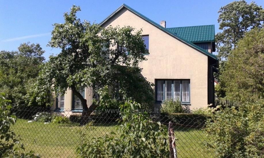 Parduodamas pirmas aukštas privataus namo Venspilyje - 3