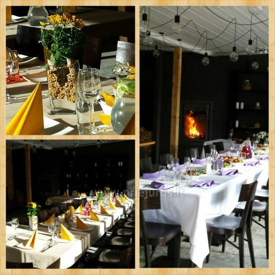 Restoranas Neptūns Jūrmaloje: šventėms, renginiams