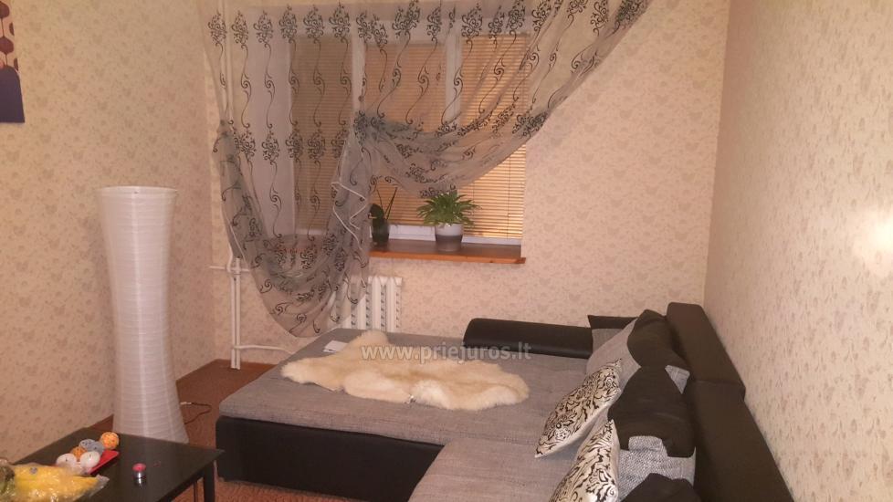 Parduodamas dviejų kambarių butas Ventspilio centre - 1