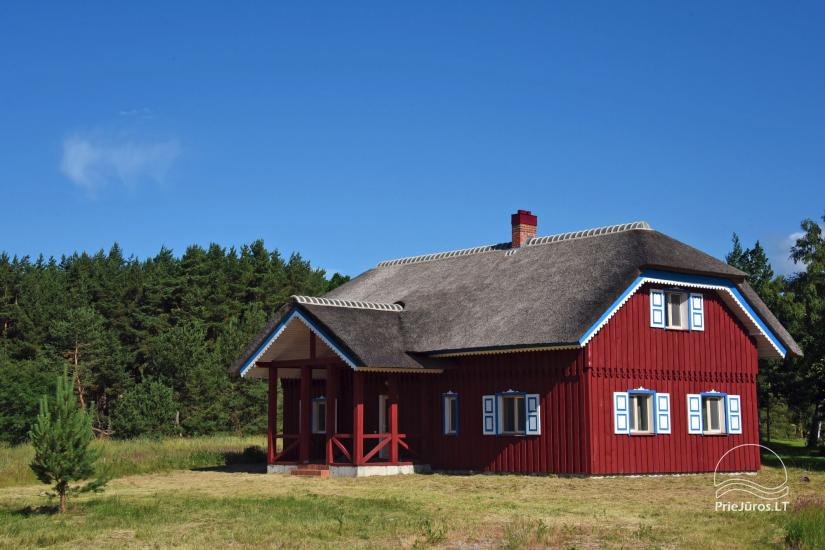 House for sale in Pape, Latvia with 0,5 hectares plot of land near the sea - 1