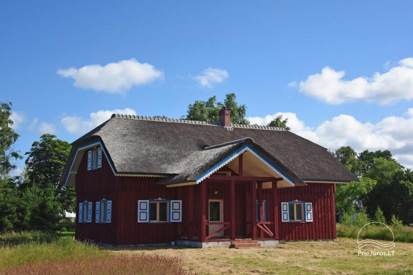 House for sale in Pape, Latvia with 0,5 hectares plot of land near the sea - 4
