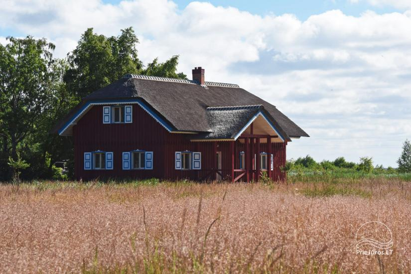 House for sale in Pape, Latvia with 0,5 hectares plot of land near the sea - 5