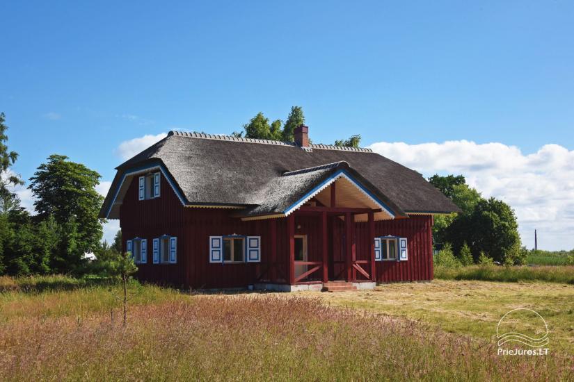 Māja pārdošanai Pape, Latvija ar 0,5 hektāru zemes gabalu pie jūras - 6