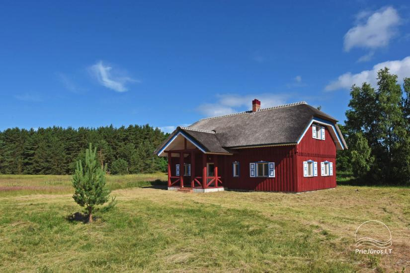House for sale in Pape, Latvia with 0,5 hectares plot of land near the sea - 3