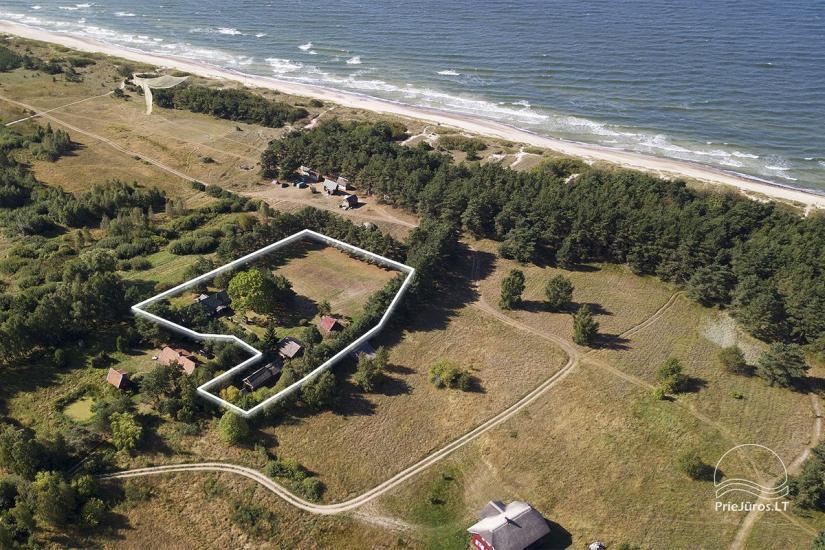 Parduodama rami sodyba Papėje su visais patogumais - iki jūros 150 m. - 1