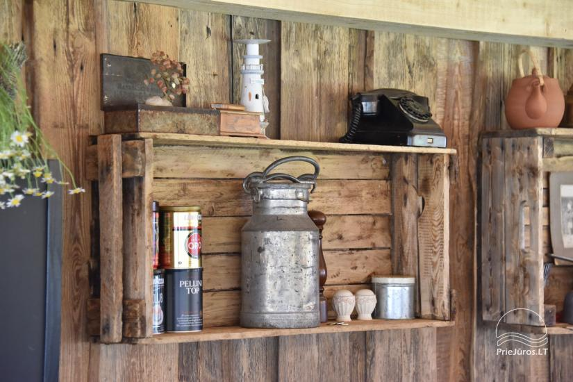 Kafejnīca svētkiem Jurgi Pape 200 pie jūras, 300 m attālumā no ezera - 20
