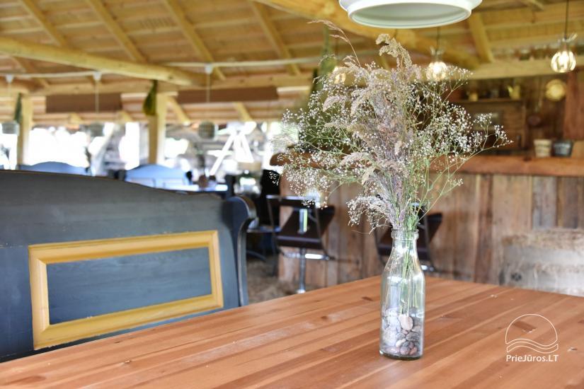 """Kavinė šventėms sodyboje """"JURGI"""" Papėje 200 m iki jūros - 19"""