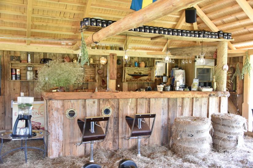 Kafejnīca svētkiem Jurgi Pape 200 pie jūras, 300 m attālumā no ezera - 15