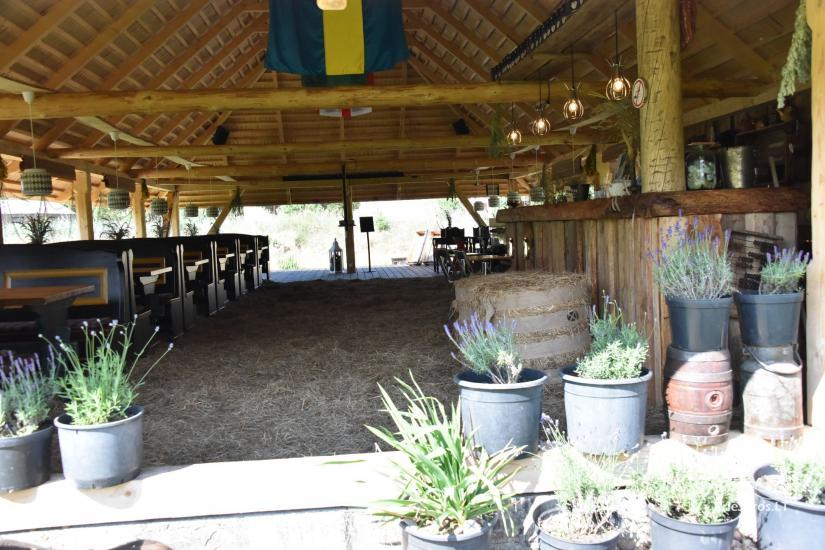 Kafejnīca svētkiem Jurgi Pape 200 pie jūras, 300 m attālumā no ezera - 24
