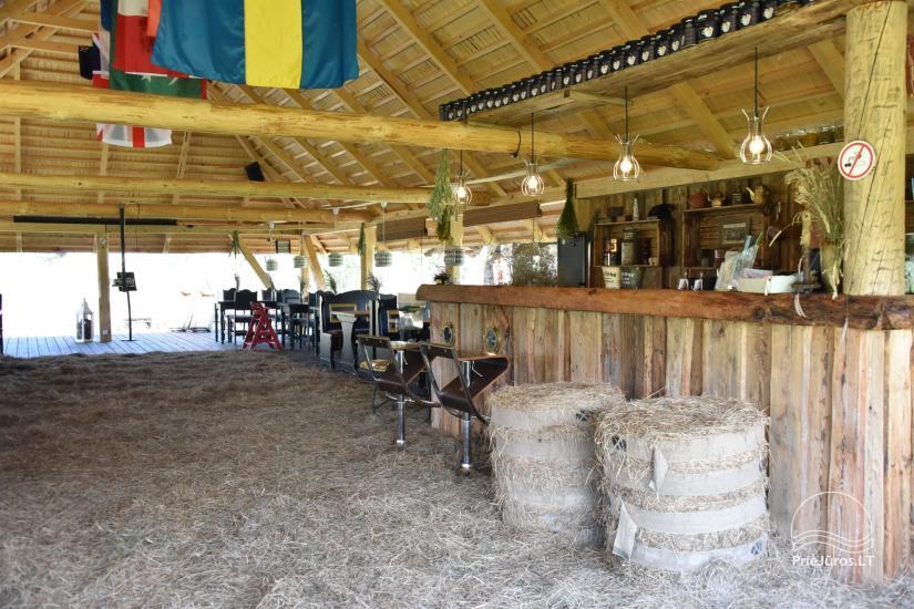 """Kavinė šventėms sodyboje """"JURGI"""" Papėje 200 m iki jūros - 25"""