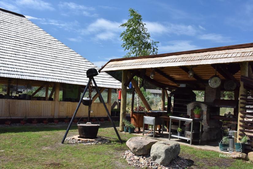 Kafejnīca svētkiem Jurgi Pape 200 pie jūras, 300 m attālumā no ezera - 27