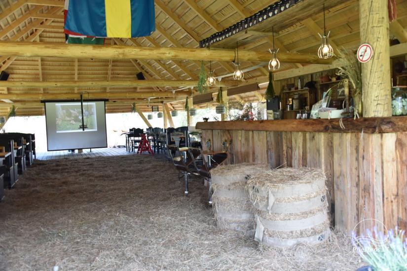 """Kavinė šventėms sodyboje """"JURGI"""" Papėje 200 m iki jūros - 10"""