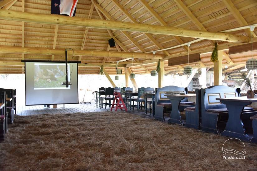 Kafejnīca svētkiem Jurgi Pape 200 pie jūras, 300 m attālumā no ezera - 11
