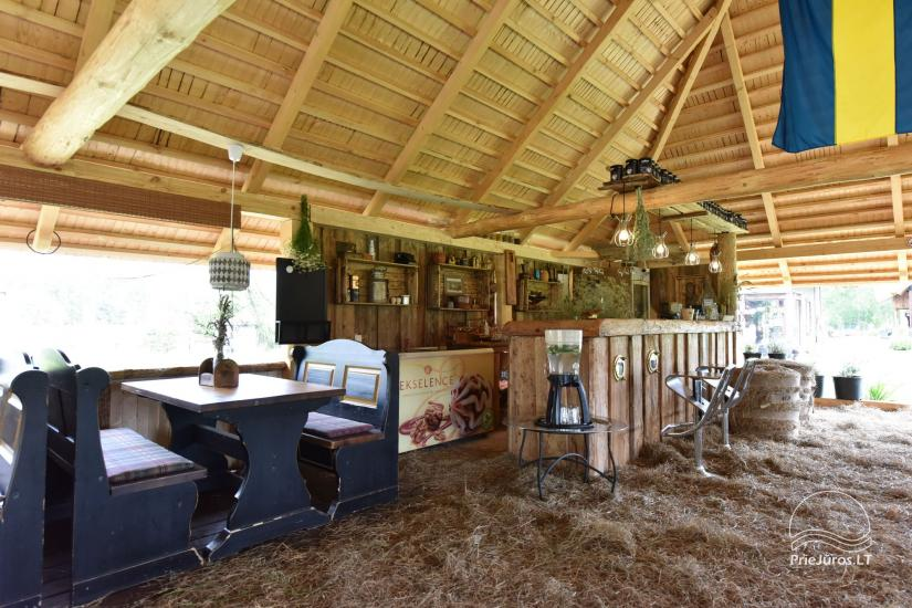 Kafejnīca svētkiem Jurgi Pape 200 pie jūras, 300 m attālumā no ezera - 17