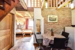 Haus Nr. 2. Apartments mit separaten Eingängen, Terrassen, Gartenmöbeln, Küchen - 4