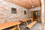 House for events with a banquet hall, bedrooms, sauna, hot tub, outdoor swimming pool - 8