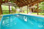 Māja pasākumiem ar banketu zāli, guļamistabām, saunu, burbuļvannu, āra peldbaseinu - 5