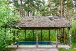 House for events with a banquet hall, bedrooms, sauna, hot tub, outdoor swimming pool - 4