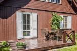 No. 3 Appartement mit separatem Eingang, Terrasse, Küche, Dusche und WC - 75 EUR / Tag. - 1